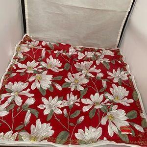 Vintage Caruso floral scarf